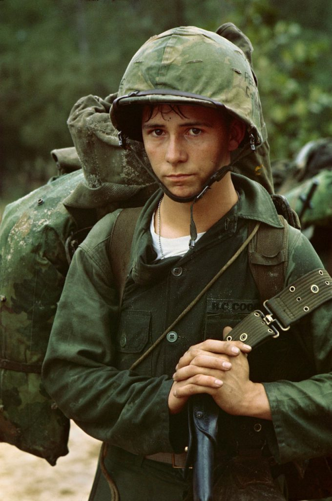 viet nam war, soldier, young